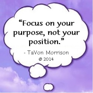 Cloud - Focus on your purpose