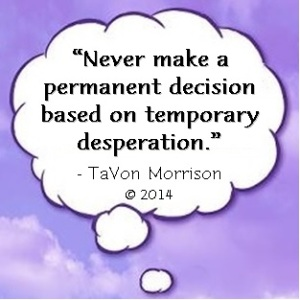 Cloud - Never make a permanent